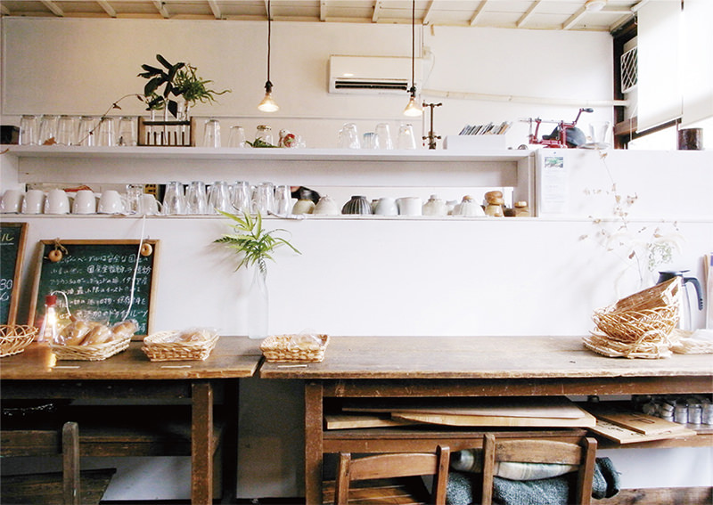 cafeねこぱん店内の様子