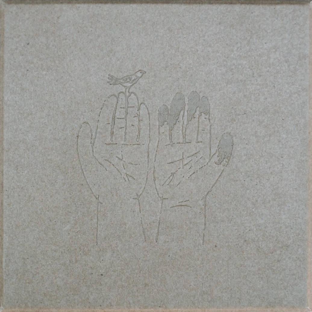 コンピレーション「紙片」アートワーク